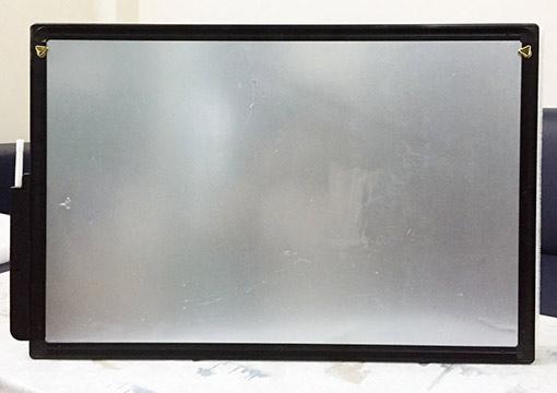 Mặt sau Bảng đen điện tử LCD mã LCDQM26