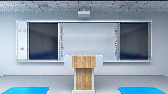 Bảng đen điện tử lắp cho trường học