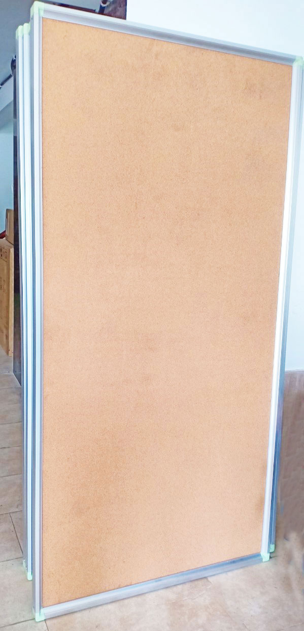 bảng ghim bần khung nhôm
