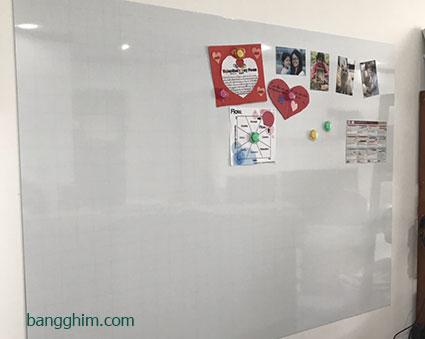 bảng từ trắng không khung trang trí
